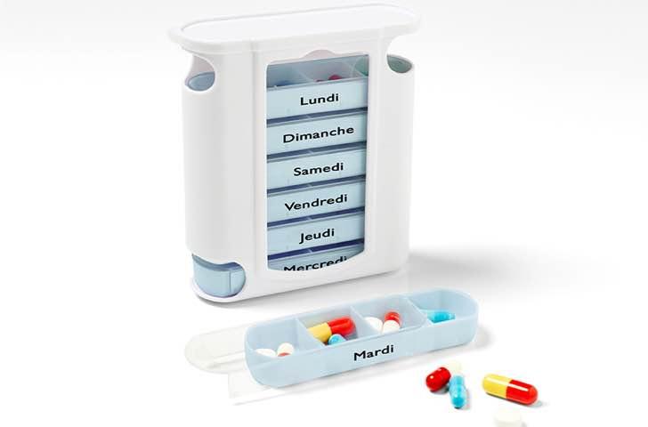 Piluliers et accessoires santé